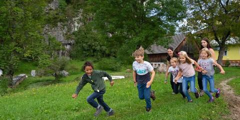 Kinder Ausflug Biohof Tonder
