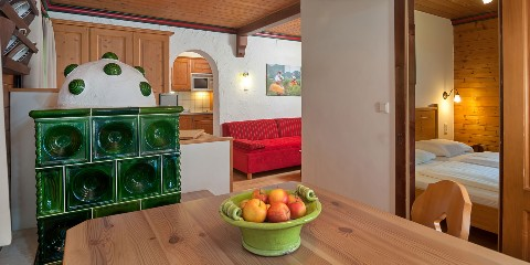 Appartement Seen inkl. Halbpension
